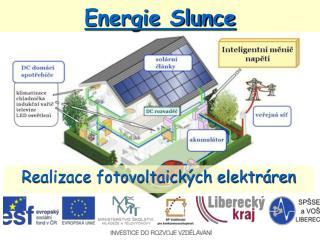 Energie Slunce