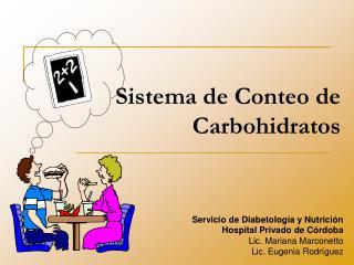 Sistema de Conteo de Carbohidratos