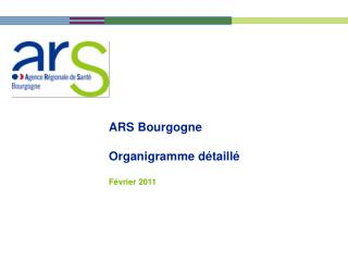 ARS Bourgogne  Organigramme d taill