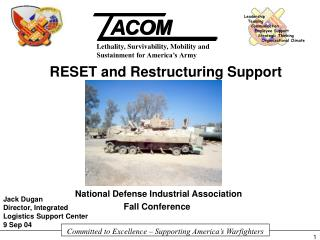 National Defense Industrial Association                           Fall Conference