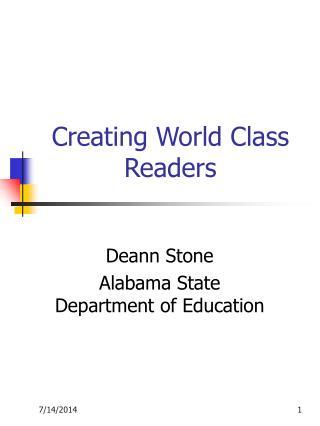 Creating World Class Readers