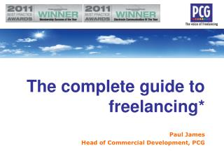 The complete guide to freelancing*