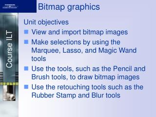 Bitmap graphics