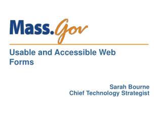 Sarah Bourne Chief Technology Strategist