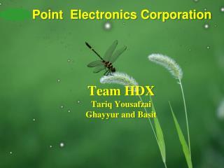 Team HDX Tariq Yousafzai Ghayyur and Basit