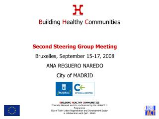 Second Steering Group Meeting Bruxelles