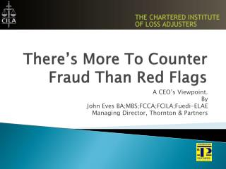 There's More To Counter Fraud Than Red Flags