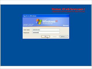 Windows  XP with Service pack  2 (Optionally on NTFS partition for better security)