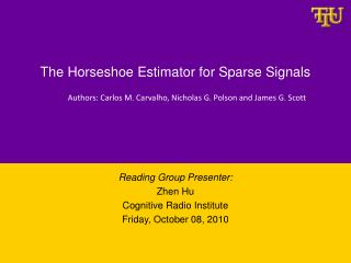 The Horseshoe Estimator for Sparse Signals
