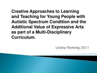 Lesley Fleming 2011