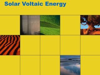 Solar Voltaic Energy