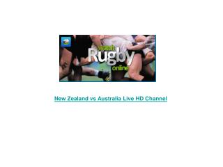 New Zealand vs Australia Live Streaming Rugby (RWC) Semi Fin