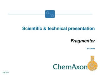 Scientific & technical presentation Fragmenter      Nóra Máté