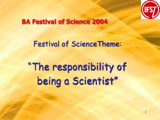 BA Festival of Science 2004