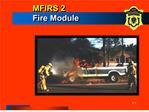 MFIRS 2  Fire Module