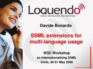 SSML extensions for multi-language usage