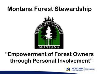 Montana Forest Stewardship