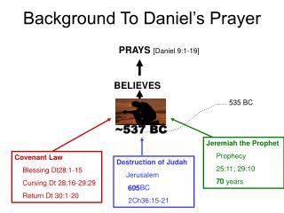 DANIEL ~537 BC