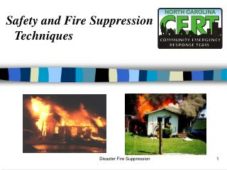 Safety and Fire Suppression Techniques