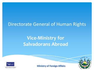 Directorate General of Human Rights