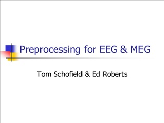 Preprocessing for EEG  MEG