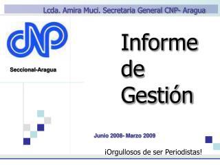 Informe General de Gesti??n