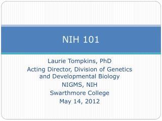 NIH 101