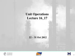 Unit Operations Lecture  16_17