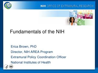 Fundamentals of the NIH