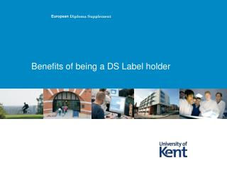 Benefits of being a DS Label holder