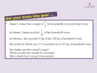 Get your brain into gear ...