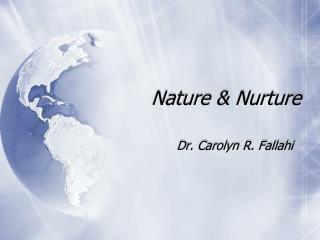 Nature And Nurture Essay