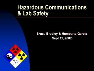 Hazardous Communications & Lab Safety