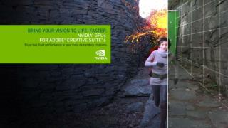 NVIDIA  GPUs Power  Adobe ® Creative  Suite ® 6 Production Premium Best  Performance - Broadest GPU Support
