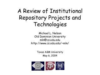 Texas A&M University May 6, 2004