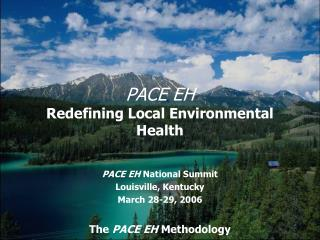 PACE EH Redefining Local Environmental Health