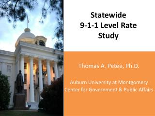 Statewide 9-1-1 Level Rate Study