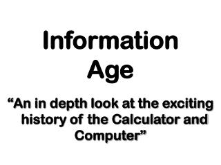 Information Age