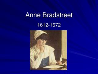 an introduction to the analysis and importance of anne bradstreet Database of free english literature essays  search to find a specific english literature essay or  summary and analysis introduction the monk which is an.