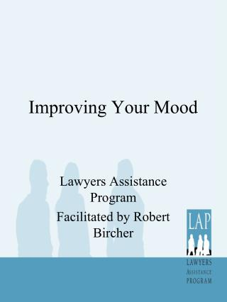 Improving Your Mood