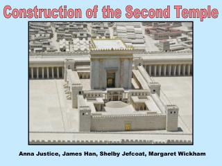 Construction of the Second Temple