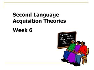 Second Language Acquisition Theories Week 6