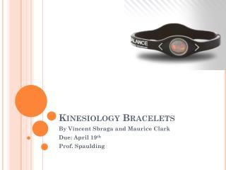 Kinesiology Bracelets