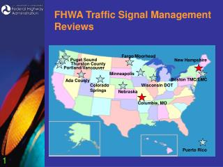 FHWA Traffic Signal Management Reviews