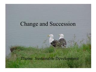 Change and Succession