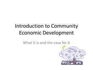 Introduction to Community Economic Development