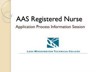 AAS Registered Nurse