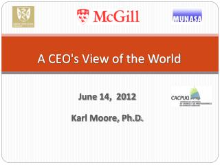 A CEO's View of the World