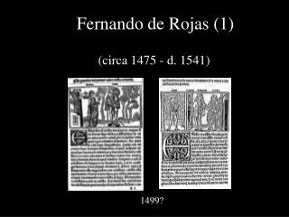 Fernando de Rojas (1)