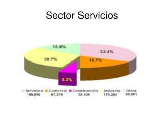 Sector Servicios